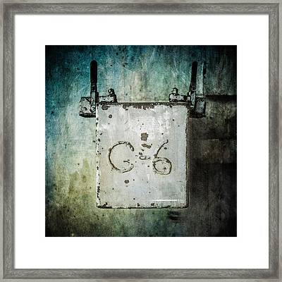 Pacific Airmotive Corp 25 Framed Print by YoPedro