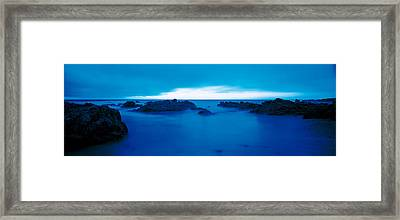 Pacific Coast Monterey Ca Usa Framed Print by Panoramic Images