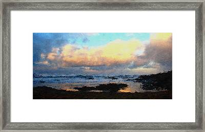Pacific Morning Framed Print by Jenny Armitage