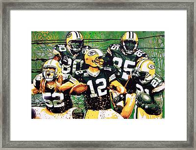 Pack' Attack Framed Print by Bobby Zeik
