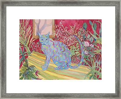 Paco's Jungle Framed Print by Susan Lutz