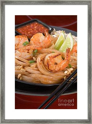 Pad Thai Framed Print by Iris Richardson