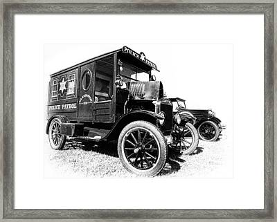 Paddy Wagon Framed Print by Larry Helms