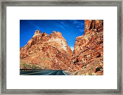 Page Arizona Framed Print by Jon Berghoff