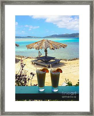 Painkillers Framed Print by Carey Chen