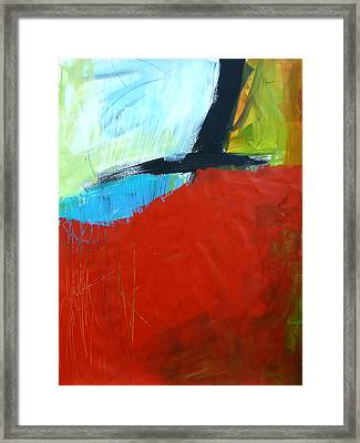 Paint Improv 11 Framed Print by Jane Davies