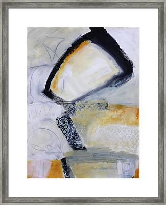 Paint Improv 4 Framed Print by Jane Davies