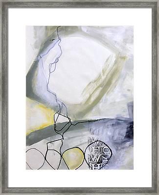 Paint Improv 6 Framed Print by Jane Davies