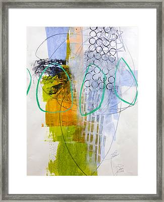 Paint Improv 7 Framed Print by Jane Davies