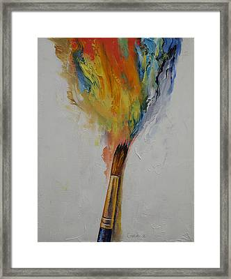 Paint Framed Print by Michael Creese