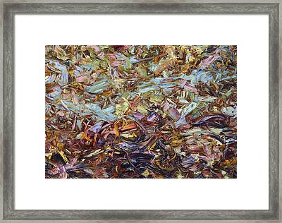 Paint Number 51 Framed Print by James W Johnson