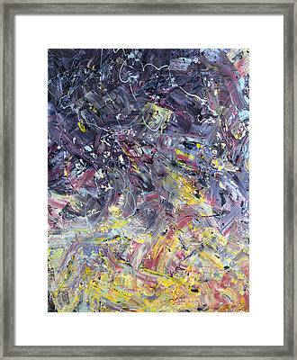 Paint Number 55 Framed Print by James W Johnson