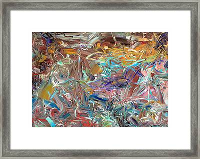 Paint Number46 Framed Print by James W Johnson