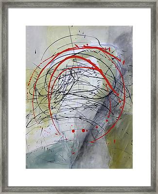 Paint Solo 4 Framed Print by Jane Davies