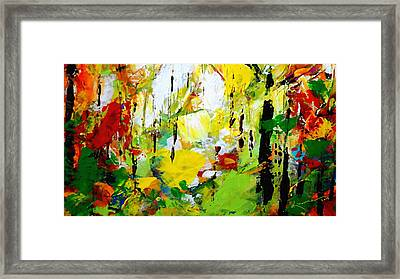 Painted Autumn Framed Print by Kume Bryant