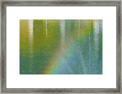 Painted By Water And Light Framed Print by Ben and Raisa Gertsberg