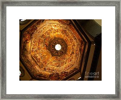Painted Dome Framed Print by Evgeny Pisarev