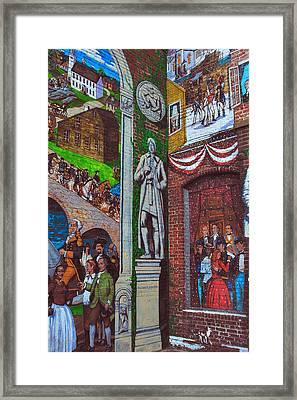 Painted History 1 Framed Print by Joann Vitali