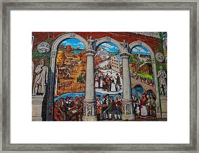 Painted History 2 Framed Print by Joann Vitali