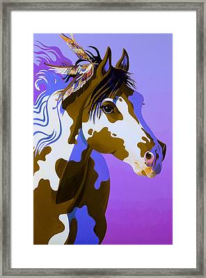 Painted Lady Framed Print by Bob Coonts