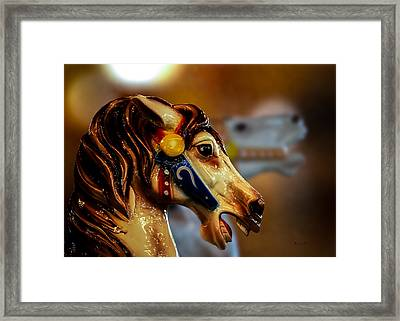 Painted Pony  Framed Print by Bob Orsillo