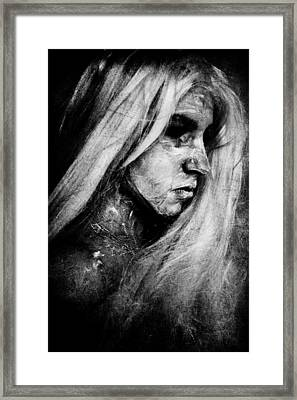 Painted Framed Print by Cambion Art