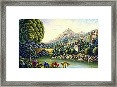 Painters Creek 2 Framed Print by Andy Russell