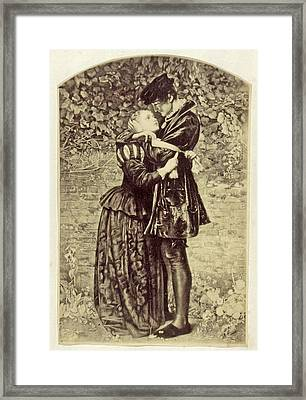 Painting By John Everett Millais, John Everett Millais Framed Print by Artokoloro
