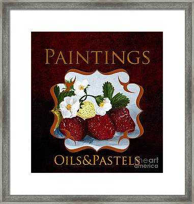 Painting Gallery Framed Print by Iris Richardson