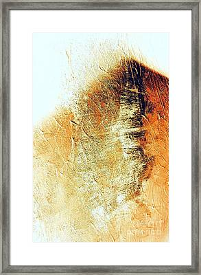 Painting With Shadows Framed Print by Jacqueline McReynolds
