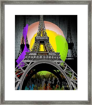 Paree Framed Print by Reggie Duffie