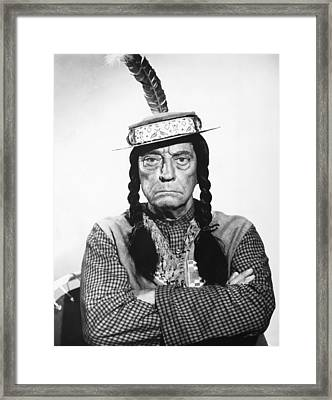 Pajama Party, Buster Keaton, 1964 Framed Print by Everett