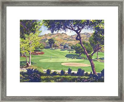 Pala Mesa Golf Course Framed Print by Mary Helmreich