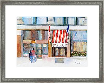 Palace Hotel Framed Print by Sandy Linden
