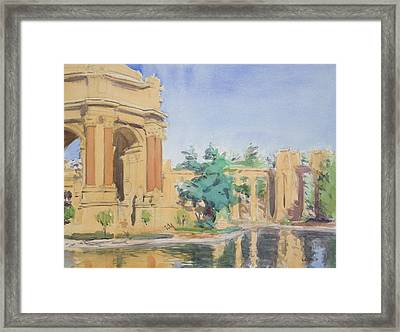 Palace Of Fine Arts Framed Print by Walter Lynn Mosley