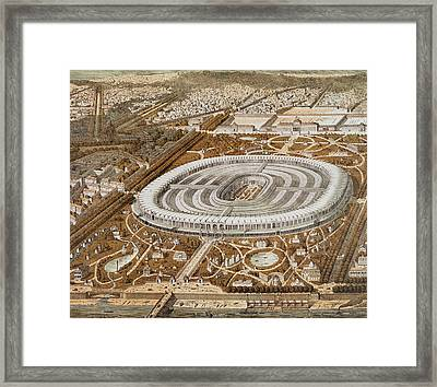 Palace Of The Universal Exhibition In Paris Framed Print by French School