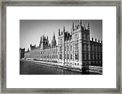 Palace Of Westminster Framed Print by Elena Elisseeva