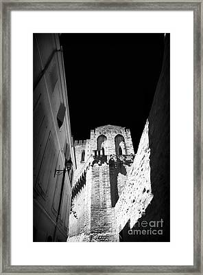 Palace Shadows Framed Print by John Rizzuto