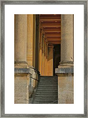 Palace Step Framed Print by Joseph Yarbrough