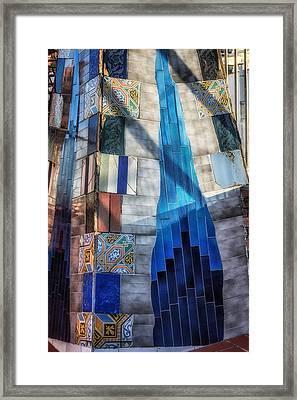 Palau Guell Framed Print by Joan Carroll