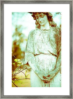 Pale Angel Framed Print by Sonja Quintero