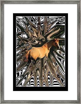 Pale Horse Framed Print by Aidan Moran