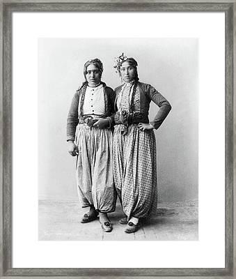 Palestine Gypsies, 1893 Framed Print by Granger