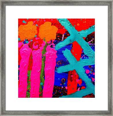 Palimpsest 005 Framed Print by John  Nolan