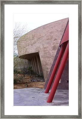 Palm Desert Angle Framed Print by Viktor Savchenko