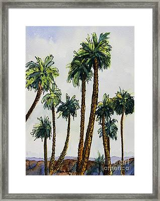 Well Dressed For The Gathering Framed Print by Maria Hunt