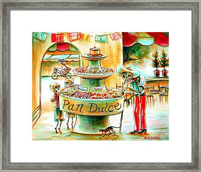 Pan Dulce Framed Print by Heather Calderon