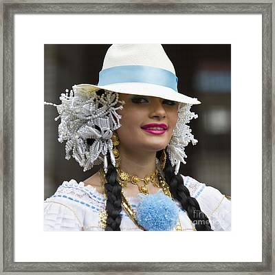 Panama Beauty Framed Print by Heiko Koehrer-Wagner