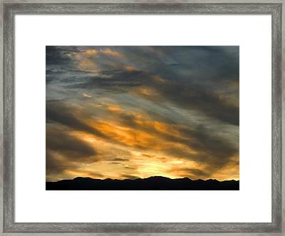 Panamint Sunset Framed Print by Joe Schofield