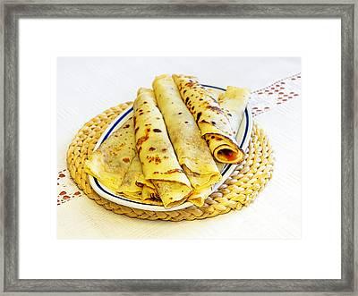 Pancakes Framed Print by Sinisa Botas